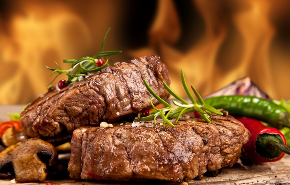 Picture photo, Pepper, Food, Meat products