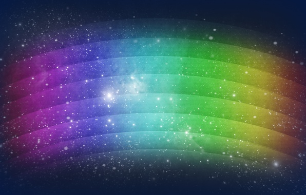 Picture space, stars, light, abstraction, patterns, paint, rainbow, colors, point, space, light, rainbow, patterns, stars, abstraction, …