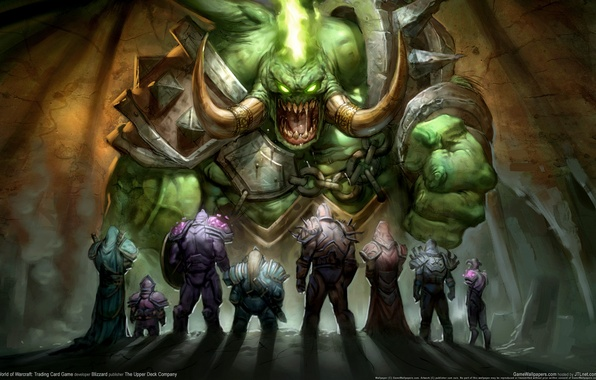 Picture Heroes, WoW, World of Warcraft, The demon, Warriors