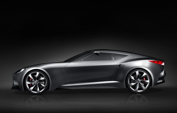 Picture auto, Concept, view, Hyundai, side, HND-9