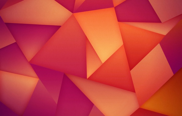 Picture abstraction, background, triangles, hq Wallpapers