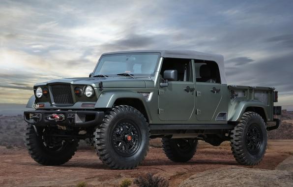 Picture Concept, Jeep, Crew, Jeep, Chief, 715