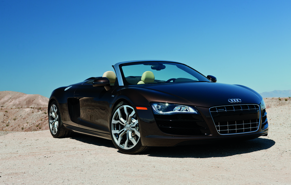 Picture Audi r8, cars, auto, 2011, Spyder, Wallpaper HD, V10, 5.2, Audi R8 Spyder, wallpapers cars, ...