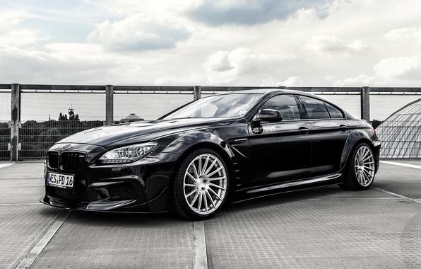 Picture BMW, coupe, BMW, black, Black, Coupe, F06, Prior-Design