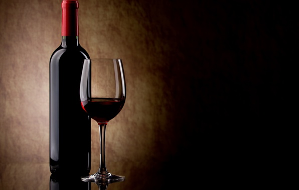 Picture glass, wine, red, glass, bottle, red, glass, wine