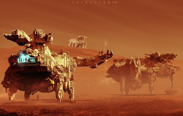 Picture technique, Col Price, Mars Rovers, Rovers