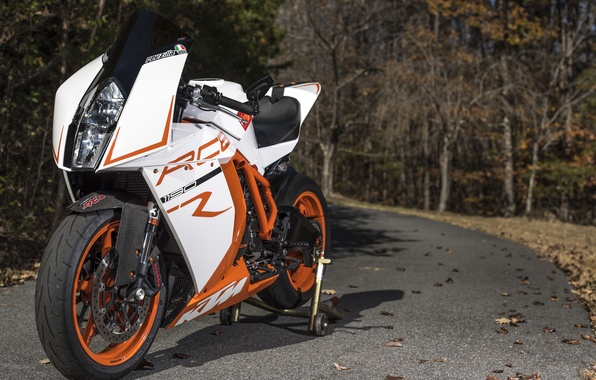Picture road, design, motorcycle, sportbike, KTM RC8R
