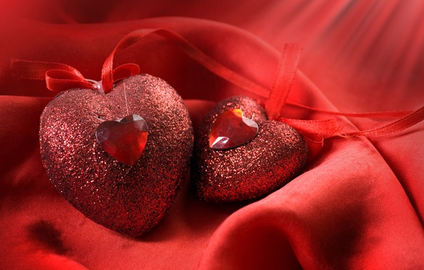 Picture decoration, red, holiday, heart, hearts, Valentine's day, Valentine's day, Wallpaper from lolita777