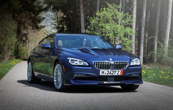 Picture BMW, BMW, Gran Coupe, xDrive, US-spec, F06, Alpina, 2015