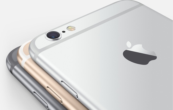 Picture Apple, Camera, Gold, Silver, Flash, Smartphone, iPhone 6, Space Grey, IOS