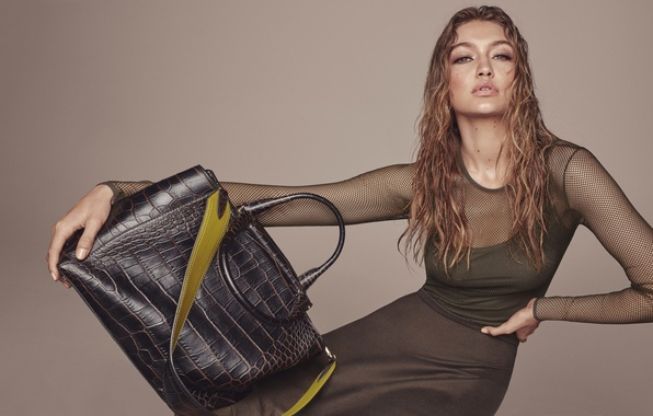 Picture model, bag, Gigi Hadid, Gigi Hadid