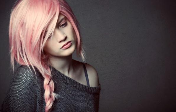 Picture girl, mood, portrait