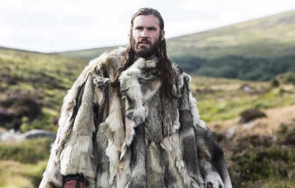 Picture fur, the series, drama, Vikings, historical, The Vikings, Clive Standen, Rollo