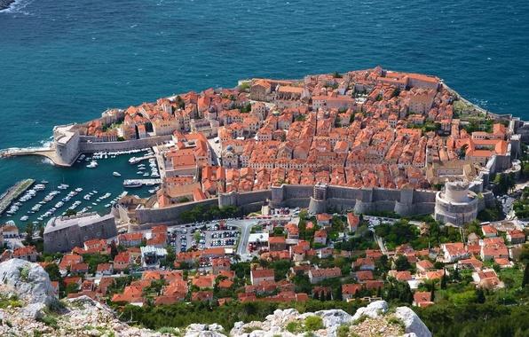 Picture coast, panorama, Croatia, Croatia, Dubrovnik, Dubrovnik, The Adriatic sea