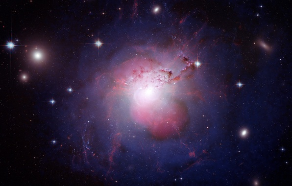 Picture stars, Space, galaxy, galaxy NGC 1275