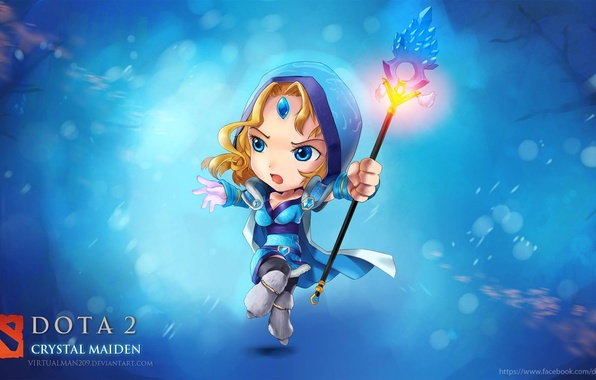 Picture chibi, dota 2, crystal maiden, virtualman209