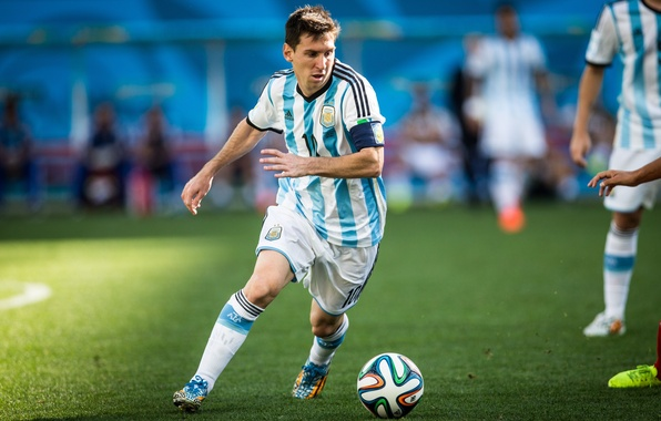 Photo Wallpaper Football Club Form Player Lionel Messi
