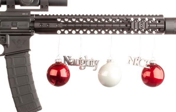 Picture weapons, balls, toys, decoration, rifle, carabiner, assault, semi-automatic