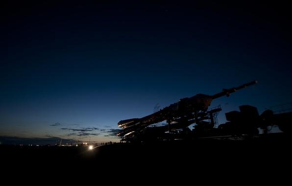 Picture Kazakhstan, start, Soyuz TMA-17, Baikonur