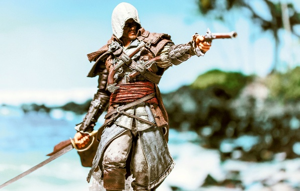 Picture Weapons, Assassin's Creed, Saber, Black Flag, Edward Kenway, Assassin's Creed IV: Black Flag, Edward Kenway, …