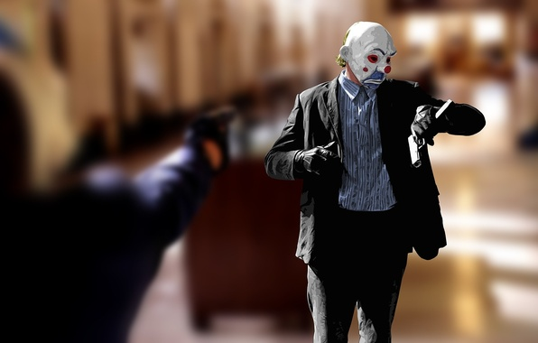 Picture time, style, gun, batman, movie, figure, watch, clown, mask, Batman, the dark knight, dark knight, …