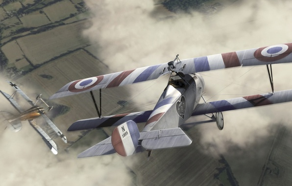 Picture the sky, France, The plane, biplane