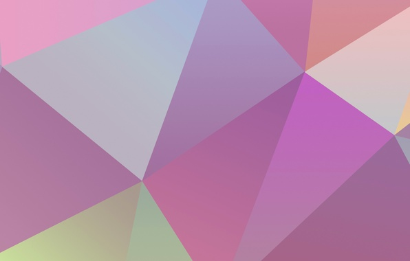 Picture Wallpaper, color, geometry, the volume, figure, triangle