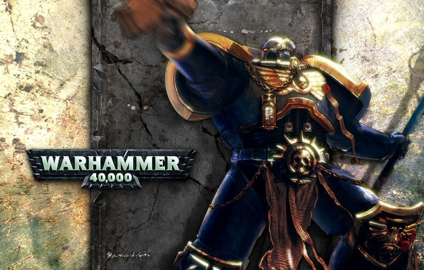 Picture Warhammer, 40k, Space Marine, Ultramarines