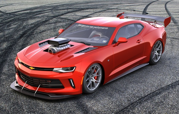 Picture car, tuning, rendering, chevrolet camaro, dangeruss