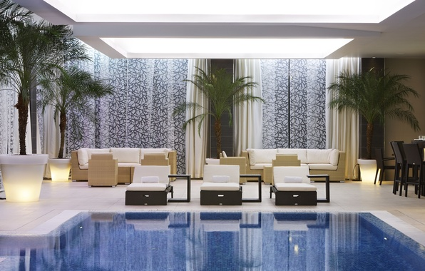 Picture pool, the hotel, hotel, palace, Slovenia, slovenia, Palace, Portoroz, Portoroz, Kempinski, kempinski