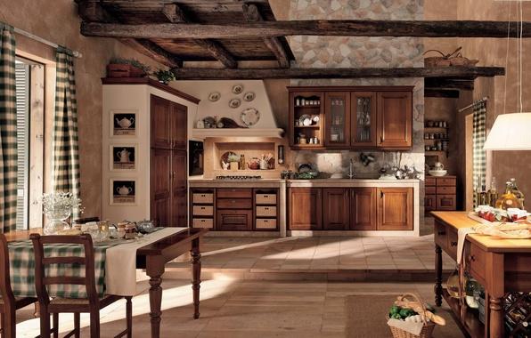 Picture design, house, style, room, Villa, interior, kitchen