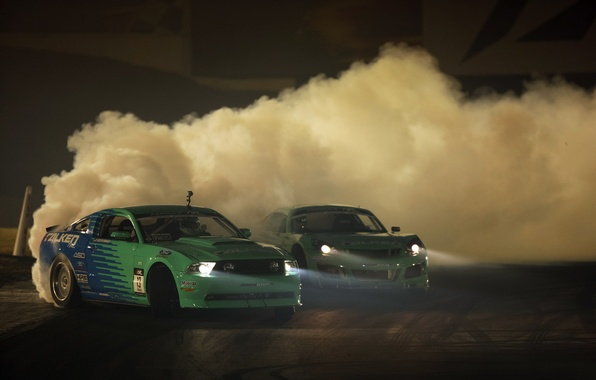 Picture machine, smoke, dust, drift