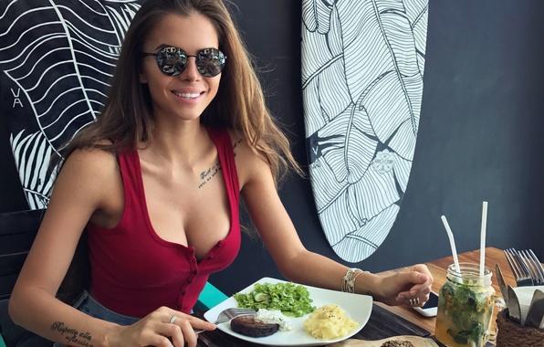 Picture girl, model, beauty, Victoria Odintsova, Winter Odintcova