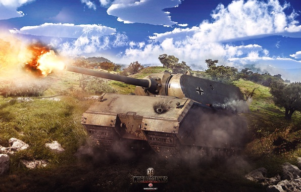 Picture Game, World of Tanks, Maus, Wargaming Net, FuriousGFX, Mouse