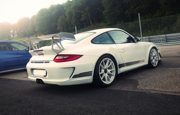 Picture Porsche, white, GT3 RS, 4.0