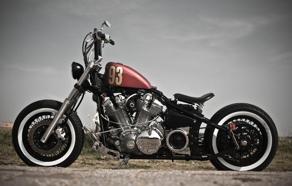 Picture design, motorcycle, bike, XV1600, Bobber