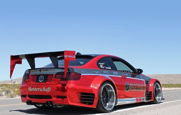 Picture tuning, BMW, BMW, spoiler, car, bumper, Coupe, back, exhausts, Prestige Marketing
