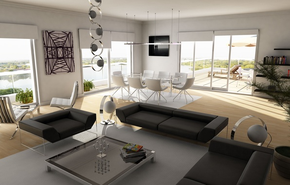 Picture design, sofa, interior, chair, table, living room