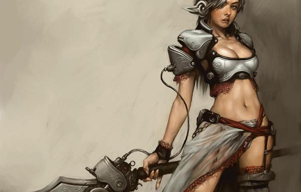 Picture Girl, Sword, RF Online, Koritko