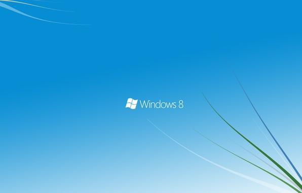 Picture blue, windows, microsoft, windows 8