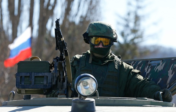 Picture Soldiers, fighter, Russia, Crimea, Russia, Russian, armed forces