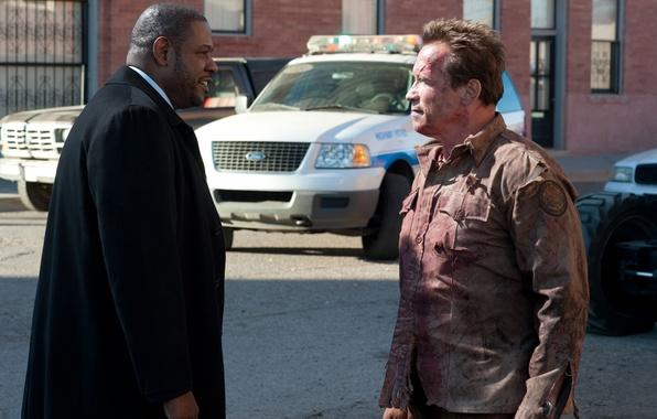 Picture police, agent, Arnold Schwarzenegger, Arnold Schwarzenegger, Return of the hero, The Last Stand, Sheriff, Sheriff …