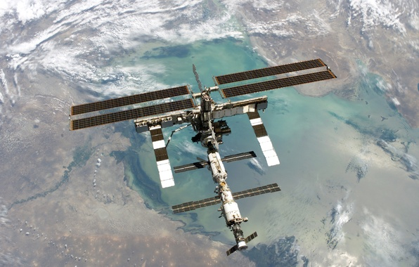 Picture Earth, ISS, Space Station, Orbit
