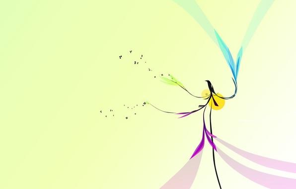 Picture design, bird, minimalism