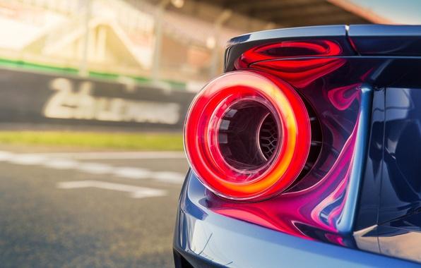 Picture auto, macro, Ford, wallpaper, supercar, Ford, auto, led, brake light