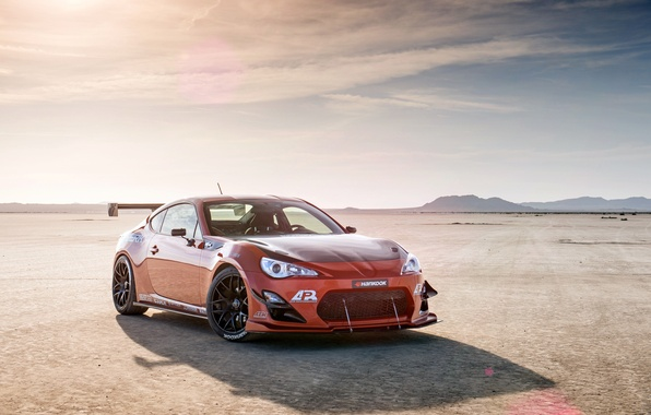 Picture orange, tuning, Toyota, tuning, front, orange, Scion, Scion, fr-s, FR-s