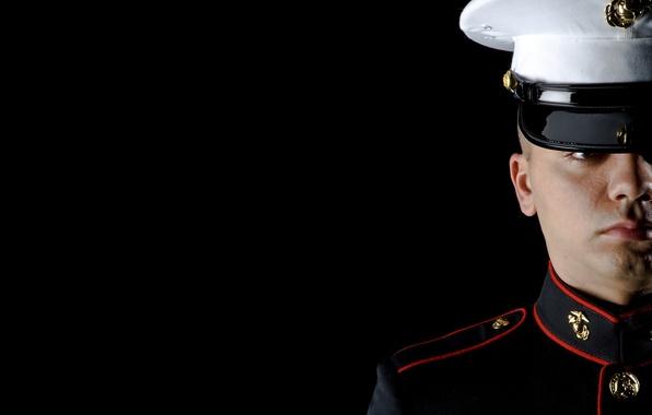 Picture dress, marine, uniform, blues