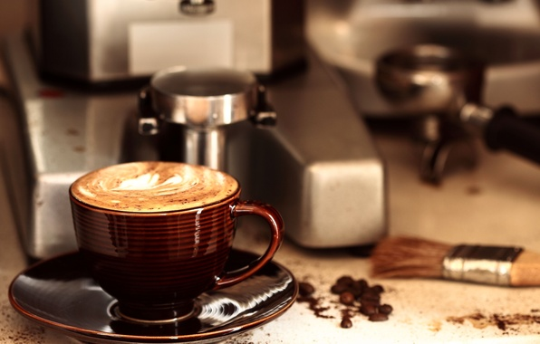 Picture coffee, Cup, drink, aroma, grain, Coffee