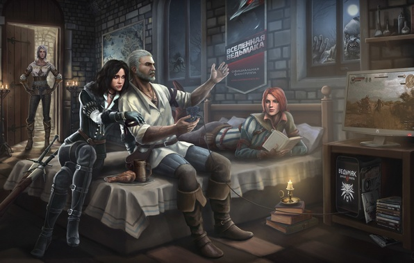Picture art, the Witcher, art, witcher, the wild hunt, wild hunt, witcher 3 wild hunt, the …