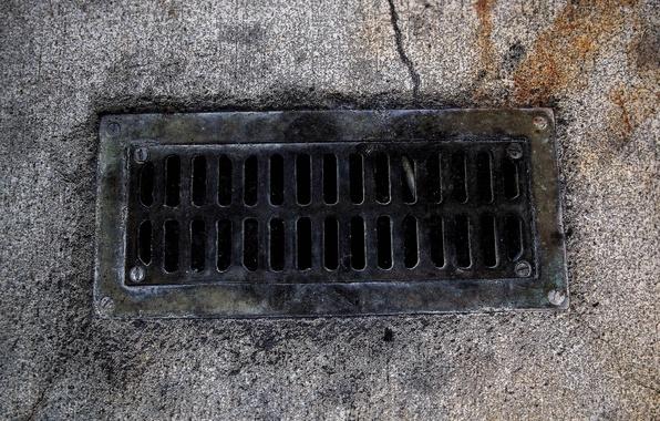 Picture road, different, asphalt, sewer grate